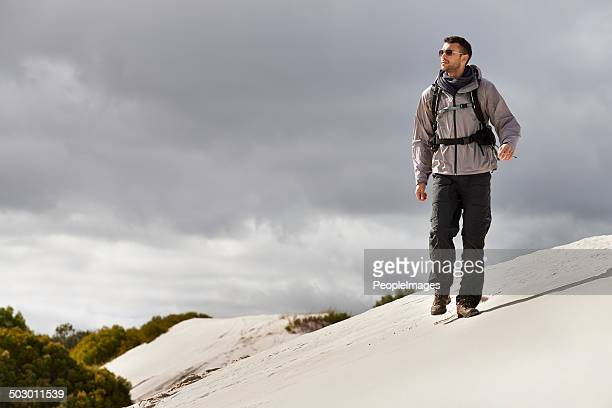 Si gestisce queste colline come un esperto hiking