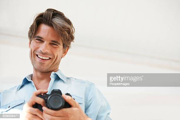 He has a passion for photography