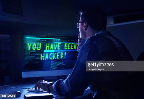 He knows how to handle a hacker