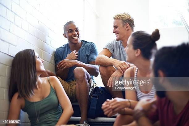 の作り方を知っているグループ笑い