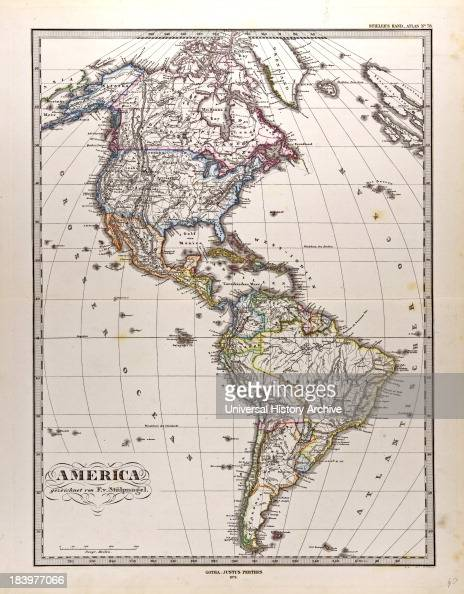 He Laid The Foundation Of The Geographical Branch Of The Business For Which It Is Chiefly Famous By Publishing The AndAtlas Of Adolf Stieler Wilhelm...