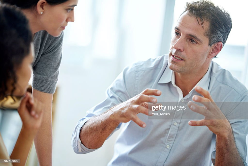 He leads by example : Stock Photo