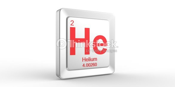 He Symbol 2 Material For Helium Chemical Element Stock Photo