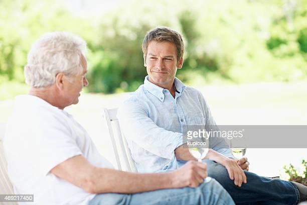 Er Schätze der Zeit hat er mit seinem old man
