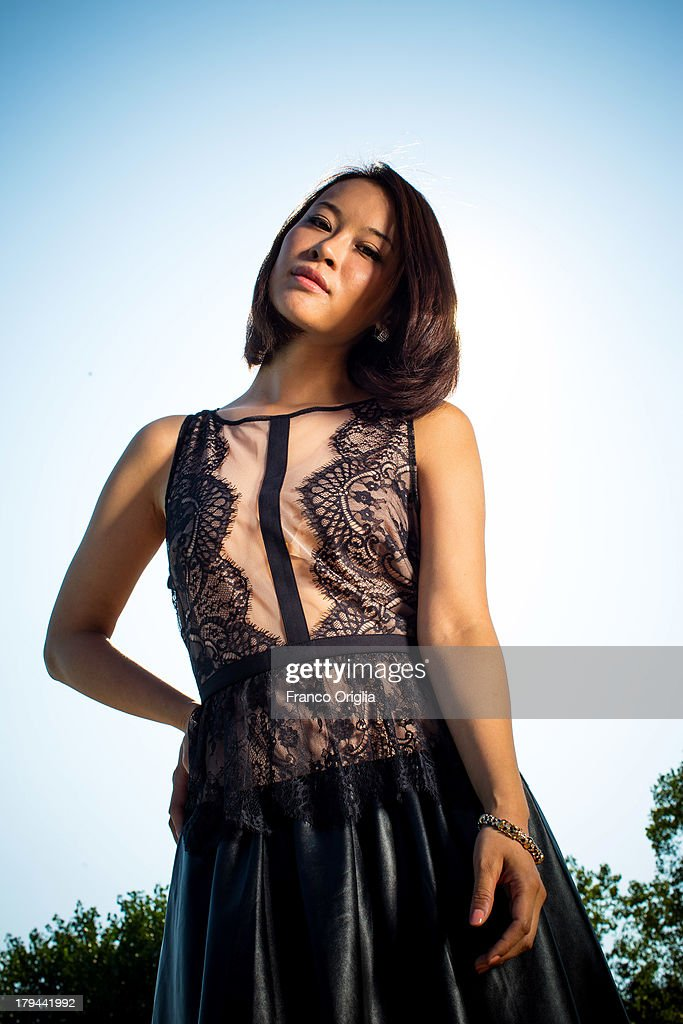 He Wenchao attends the 'Trap Street' Portrait Session as part of the 70th Venice International Film Festival on August 31, 2013 in Venice, Italy.