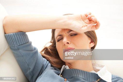 Head ache.