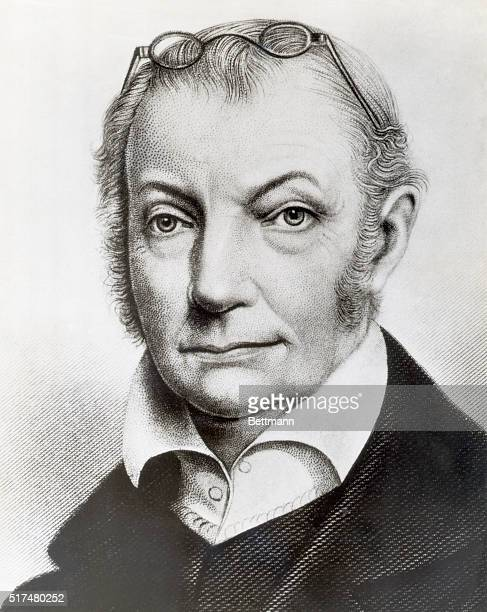 Head and shoulders portrait illustration of Vice President Aaron Burr Ca early 19th century