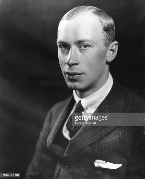 Head and shoulders portrait of Russian composer Sergey Prokofiev Undated photograph