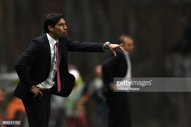 Head coach Abel Ferreira of Sporting Braga during the UEFA Europa League group C match between Sporting Braga and Istanbul Basaksehir FK at Municipal...