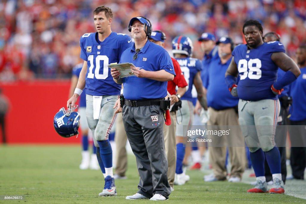 New York Giants vTampa Bay Buccaneers