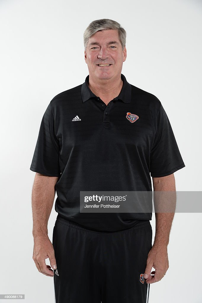 Head Coach Bill Laimbeer of the New York Liberty poses for a portrait during 2014 WNBA Media Day at the MSG Training Facility on May 12, 2014 in Tarrytown, New York.