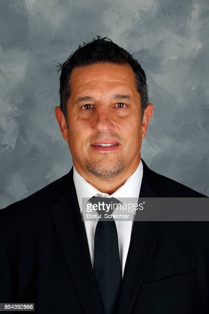 Head Coach Bob Boughner of the Florida Panthers poses for his official headshot for the 20172018 season on September 14 2017 at the BBT Center in...