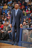 Head coach Brian Shaw of the Denver Nuggets during the game against the Memphis Grizzlies on January 29 2015 at FedExForum in Memphis Tennessee NOTE...