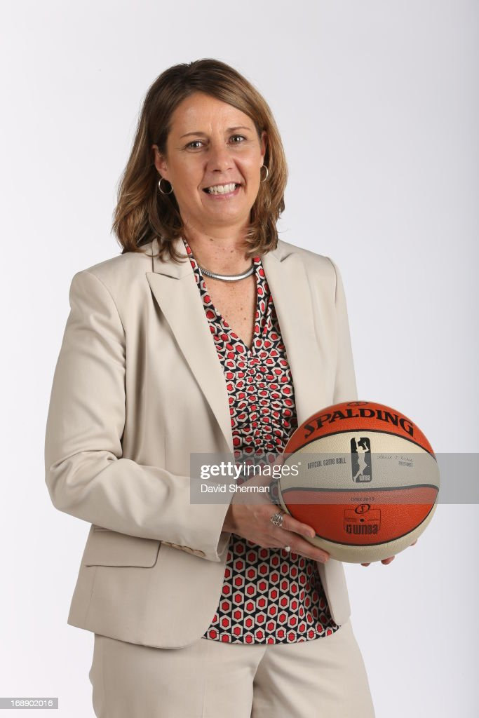 Head Coach Cheryl Reeve of the Minnesota Lynx poses for portraits during 2013 Media Day on May 16, 2013 at the Minnesota Timberwolves and Lynx LifeTime Fitness Training Center at Target Center in Minneapolis, Minnesota.