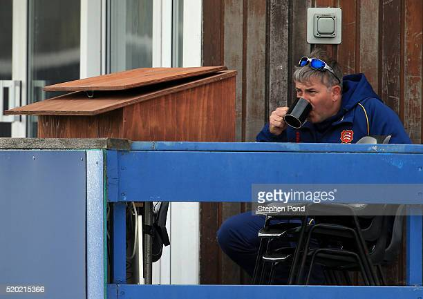 Head Coach Chris Silverwood of Essex looks on during day one of the Specsavers County Championship match between Essex and Gloucestershire at the...
