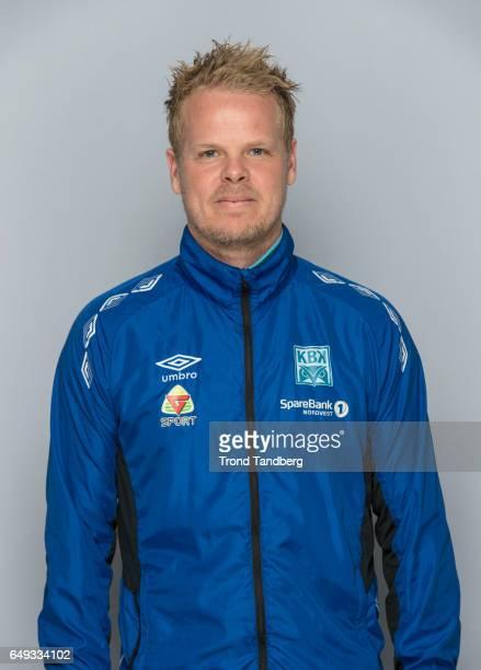Head Coach Christian Michelsen of Team Kristiansund BK on March 7 2017 in Kristiansund Norway