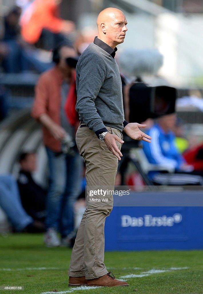 SpVgg Unterhaching v SV Elversberg - 3. Liga