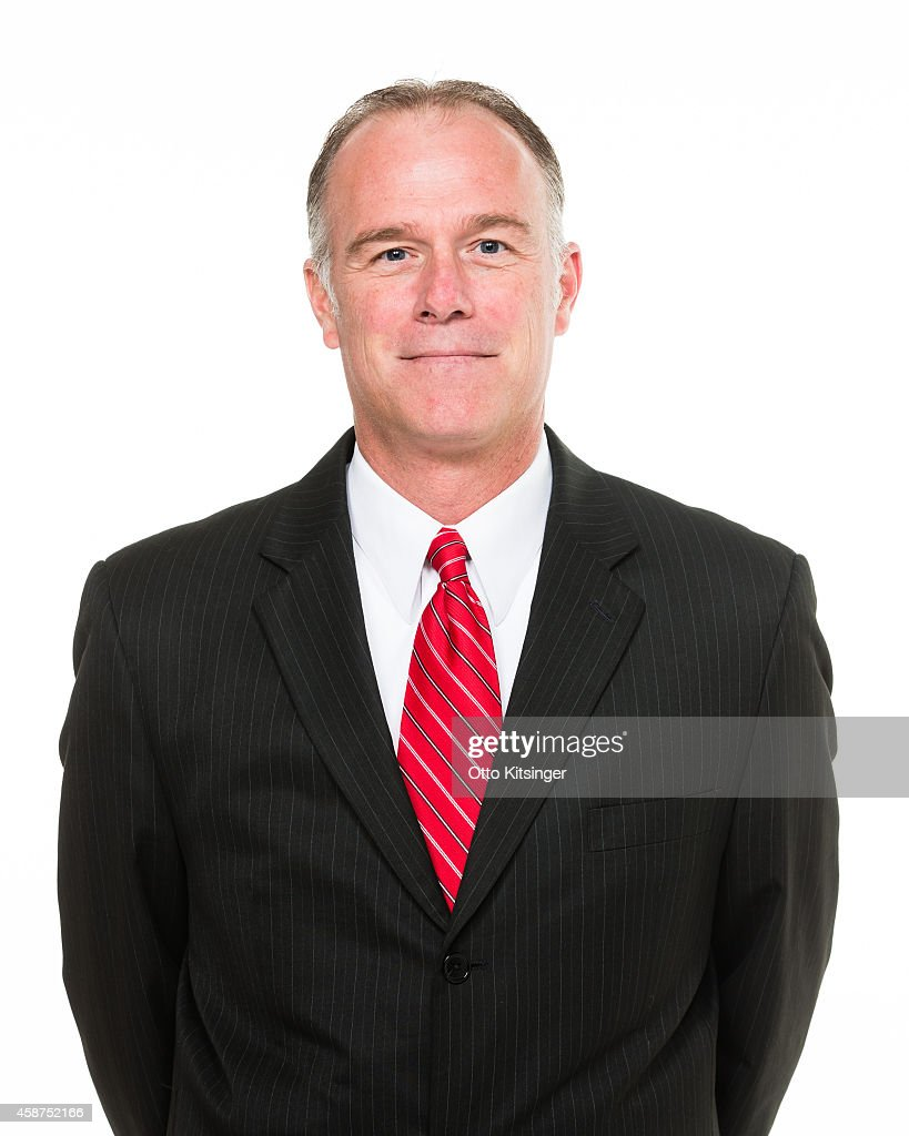 Head Coach Dean Cooper of the Idaho Stampede poses for a portrait during Media Day on November 9 2014 at CenturyLink Arena in Boise Idaho NOTE TO...