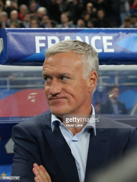 Head coach Didier Deschamps of France during the Friendly game between France and Spain at Stade de France on march 28 2017 in Paris France