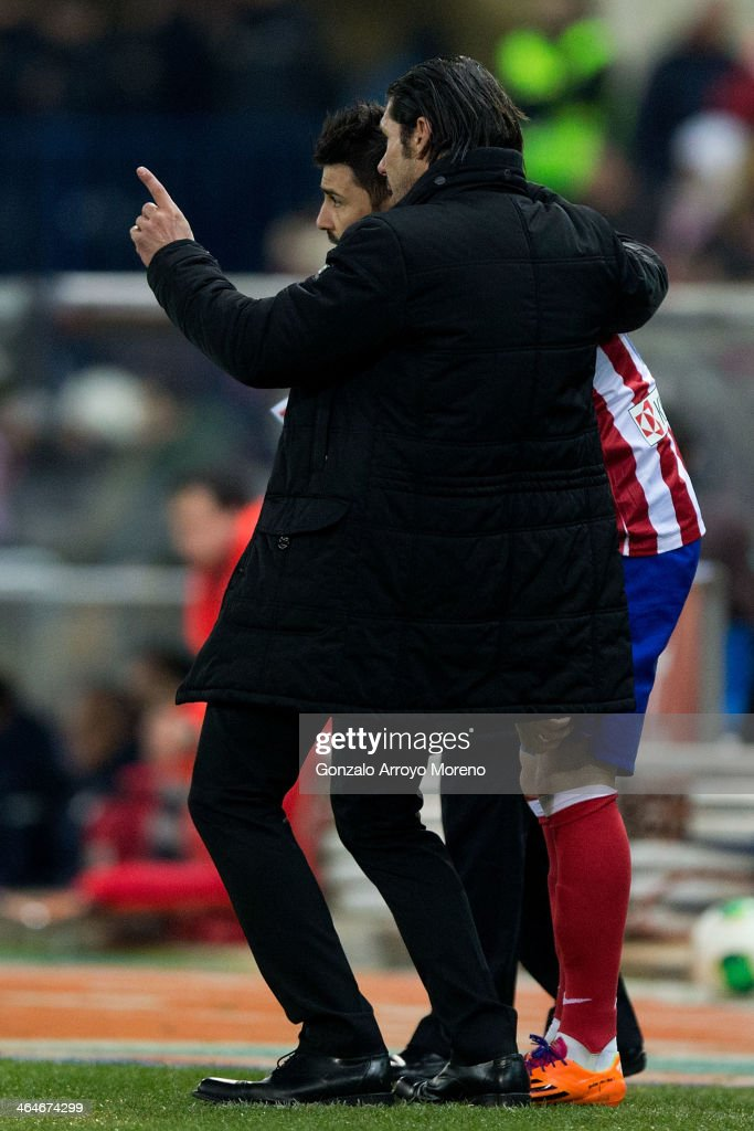Club Atletico de Madrid v  	Athletic Club - Copa del Rey Quarter Final