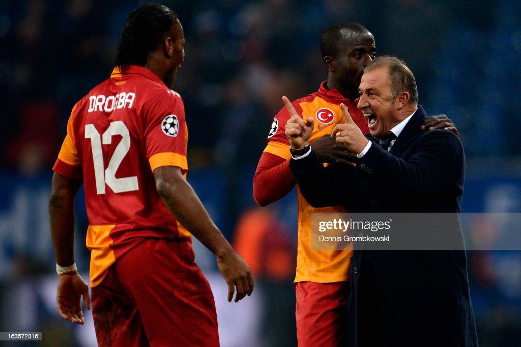 FC Schalke 04 v Galatasaray AS - UEFA Champions League Round of 16