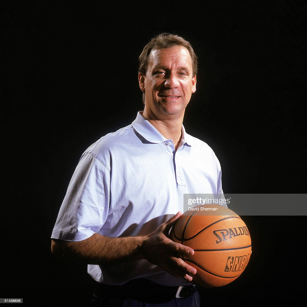 Head coach Flip Saunders of the Minnesota Timberwolves poses for a portrait during NBA Media Day on October 4 2004 in Minneapolis Minnesota NOTE TO...