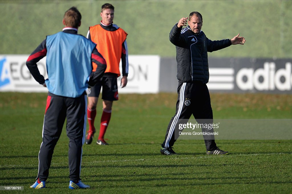 AFC Ajax Training & Press Conference - UEFA Champions League