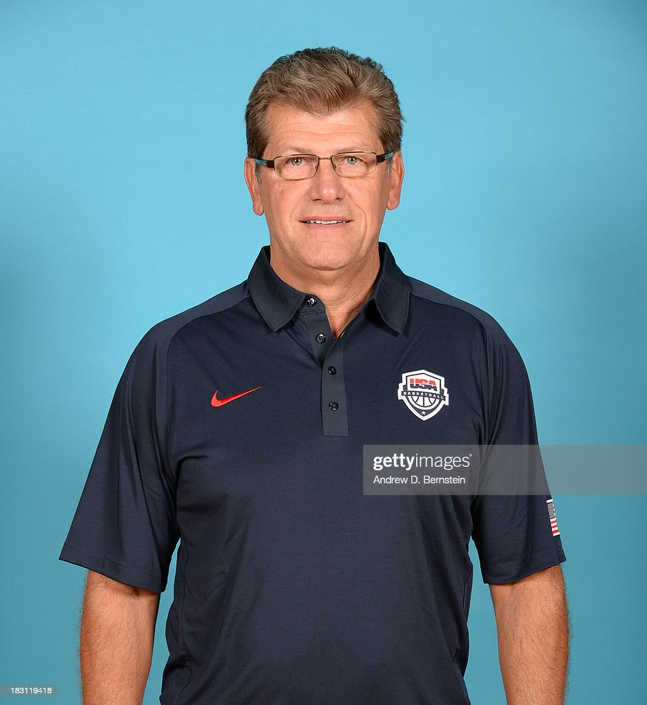 Head Coach Geno Auriemma poses for a head shot during the USA Womens National Team Mini-Camp on October 4, 2013 at the Cox Pavilion in Las Vegas, Nevada.