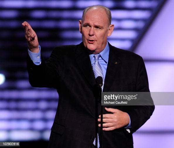 Head coach George Karl of the Denver Nuggets onstage during the 2010 ESPY Awards at Nokia Theatre LA Live on July 14 2010 in Los Angeles California