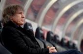 Head coach Gertjan Verbeek of Nuernberg looks on prior to the Bundesliga match between 1 FC Nuernberg and Werder Bremen at Grundig Stadium on March 8...