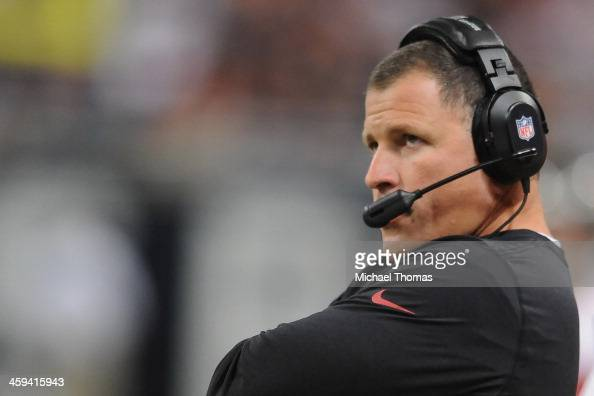 Head coach Greg Schiano of the Tampa Bay Buccaneers watches from the sidelines during a game against the St Louis Rams at the Edward Jones Dome on...