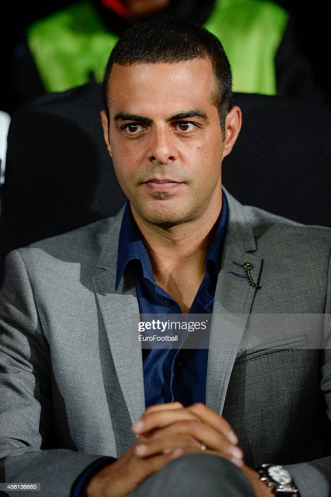 Head Coach <a gi-track='captionPersonalityLinkClicked' href=/galleries/search?phrase=Guy+Luzon&family=editorial&specificpeople=4595259 ng-click='$event.stopPropagation()'>Guy Luzon</a> of Standard de Liege look on during the UEFA Europa League Group G match between R. Standard de Liege and HNK Rijeka at the Stade Maurice Dufrasne on September 18,2014 in Liege,Belgium.