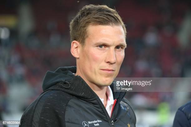 Head coach Hannes Wolf of Stuttgart looks on during the Second Bundesliga match between VfB Stuttgart and 1 FC Union Berlin at MercedesBenz Arena on...