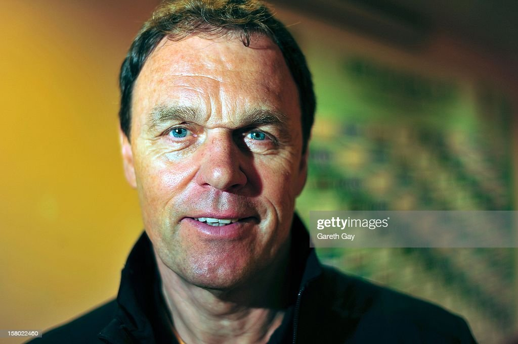 Head coach Holger Osieck of the Socceroos poses after a press conference during the EAFF East Asian Cup 2013 Qualifying match between Chinese Tapei and the Australian Socceroos at Hong Kong Stadium on December 9, 2012 in So Kon Po, Hong Kong.