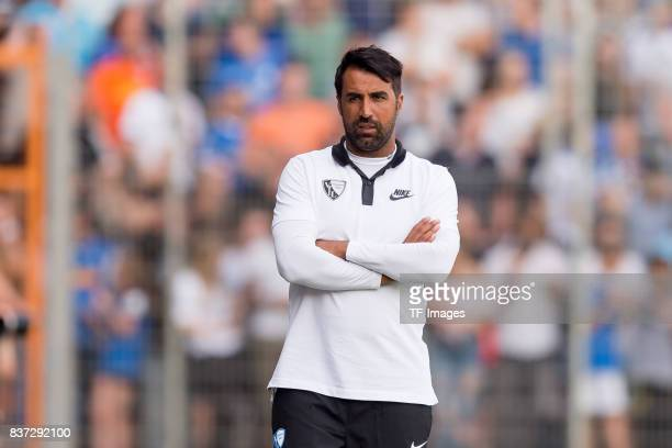 Head coach Ismail Atalan of Bochum looks on during the preseason friendly match between VfL Bochum and Borussia Dortmund at Vonovia Ruhrstadion on...