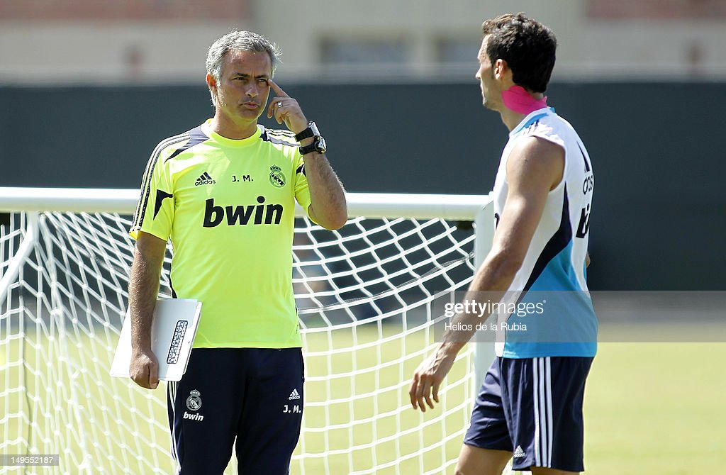 Real Madrid Training Session at UCLA campus : News Photo