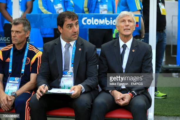 Head Coach Jose Pekerman Colombia