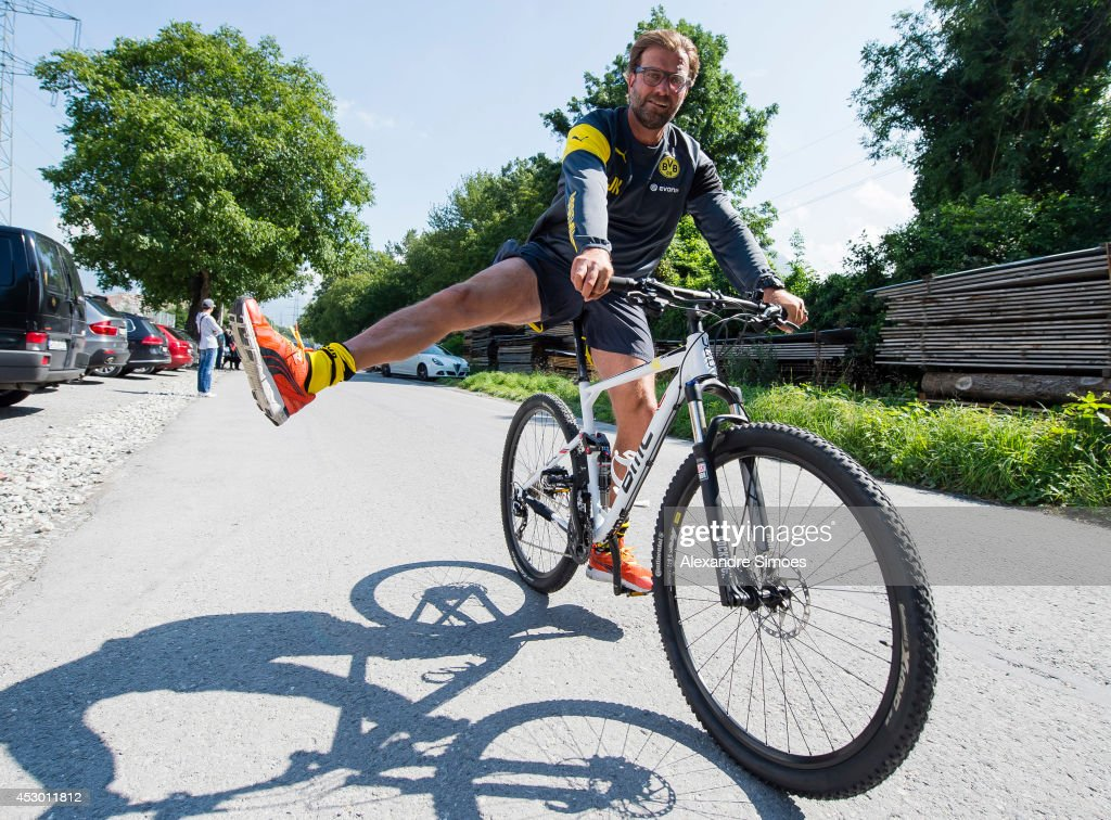 Head coach Juergen Klopp (BVB) during a training session on July 31, 2014 in Bad Ragaz, Switzerland.