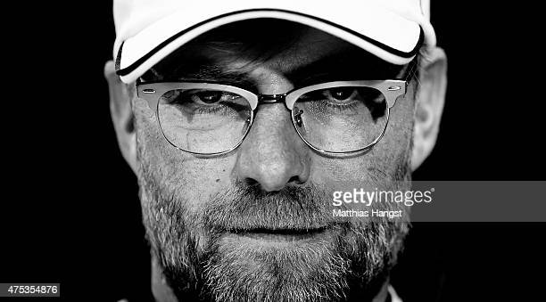 Head coach Juergen Klopp of Dortmund seen after the DFB Cup Final match between Borussia Dortmund and VfL Wolfsburg at Olympiastadion on May 30 2015...