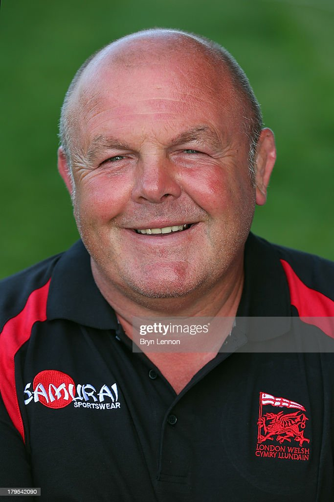 Head Coach Justin Burnell of London Welsh poses for a portrait during a London Welsh Media Day at Kassam Stadium on September 4, 2013 in Oxford, England.