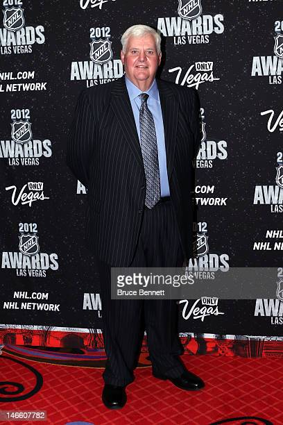 Head coach Ken Hitchcock of the St Louis Blues arrives before the 2012 NHL Awards at the Encore Theater at the Wynn Las Vegas on June 20 2012 in Las...