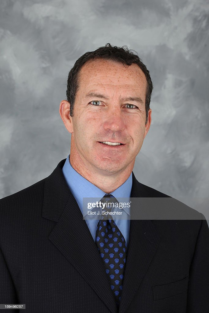 Head Coach <a gi-track='captionPersonalityLinkClicked' href=/galleries/search?phrase=Kevin+Dineen&family=editorial&specificpeople=654130 ng-click='$event.stopPropagation()'>Kevin Dineen</a> of the Florida Panthers poses for his official headshot for the 2012-2013 NHL season on January 13, 2013 in Coral Springs, Florida.