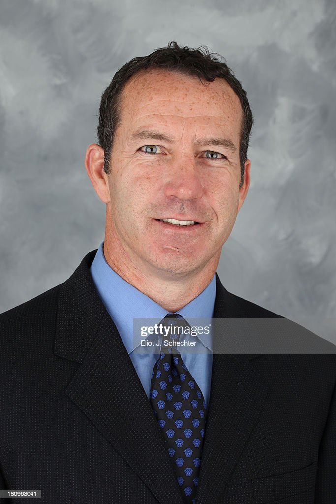 Head Coach <a gi-track='captionPersonalityLinkClicked' href=/galleries/search?phrase=Kevin+Dineen&family=editorial&specificpeople=654130 ng-click='$event.stopPropagation()'>Kevin Dineen</a> of the Florida Panthers poses for his official headshot for the 2013-2014 NHL season on September 11, 2013 in Sunrise, Florida.
