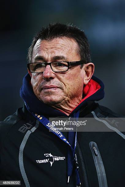 Head coach Kieran Keane of Tasman looks on ahead of the round one ITM Cup match between Waikato and Tasman at Waikato Stadium on August 14 2015 in...