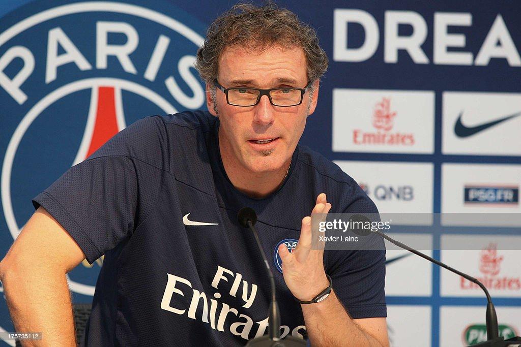 Paris Saint-Germain Training Session At Clairefontaine