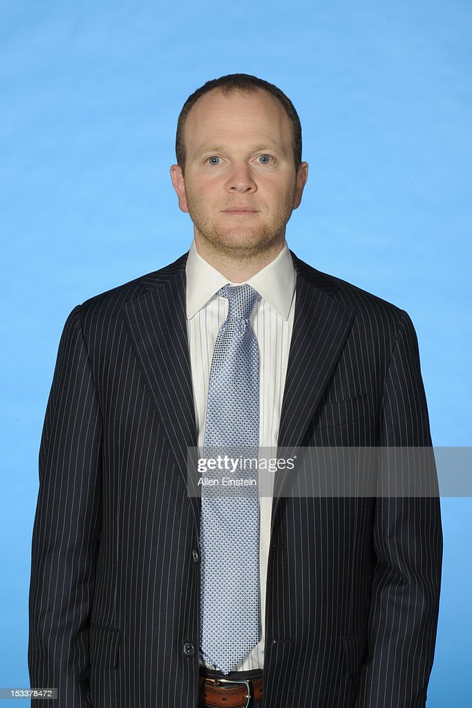 Head coach Lawrence Frank of the Detroit Pistons poses during media day on October 1 2012 at The Palace of Auburn Hills in Auburn Hills Michigan NOTE...