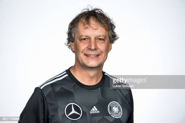 Head Coach Marcel Loosveld poses at Sport School Wedau on August 11 2017 in Duisburg Germany