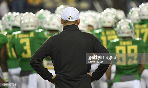 Oregon ducks mark helfrich stock photos and pictures for Christian helfrich