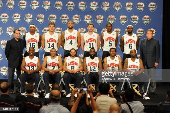 Head Coach Mike Krzyzewski Carmelo Anthony Chris Paul Blake Griffin Russell Westbrook Tyson Chandler Deron Williams Kevin Love James Harden Kevin...