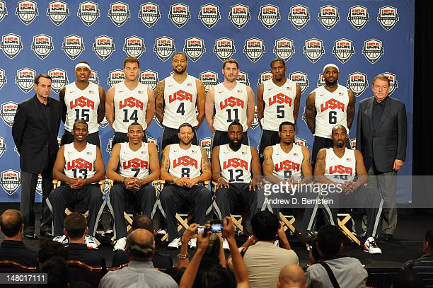 Head Coach Mike Krzyzewski Carmelo Anthony Chris Paul Blake Griffin Russell Westbrook Tyson Chandler Deron Williams Kevin Love James Harden Kevin...